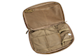 PANTAC Molle Flat Utility Pouch (Cordura / Coyote Brown)