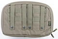 PANTAC Molle Flat Utility Pouch (Cordura / Ranger Green) <font color=yellow>(Clearance)</font>