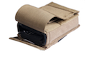 PANTAC Molle Single M16 Magazine New Pouch With Insert (Cordura / Coyote Brown)