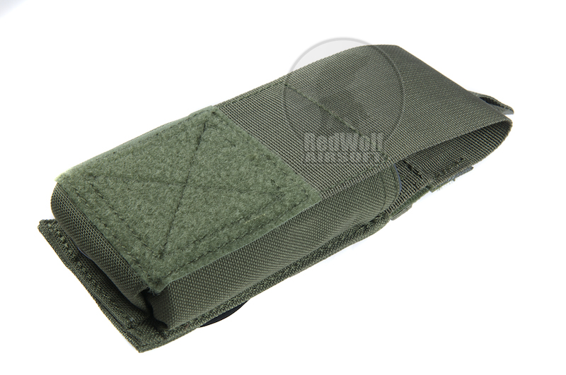 PANTAC Molle Single M16 Magazine New Pouch With Insert (Cordura / Olive Drab)