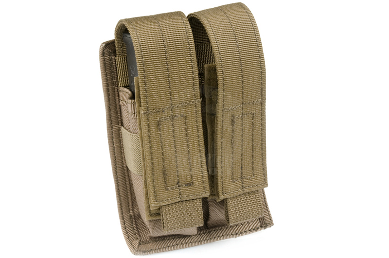 PANTAC MALICE Double Pistol Magazine Pouch (Coyote Brown)