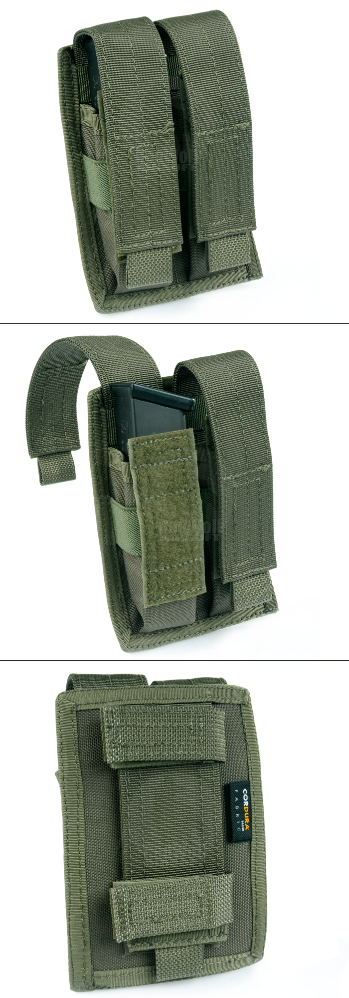 PANTAC MALICE Double Pistol Magazine Pouch (Ranger Green)