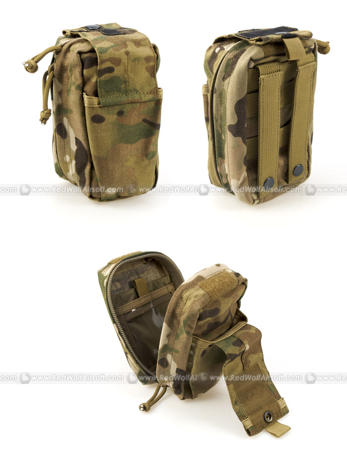 PANTAC Spec Ops Series Molle Small Medical Pouch (Crye Precision Multicam, CORDURA)