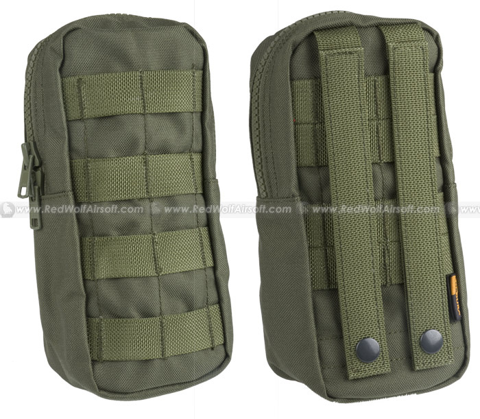 PANTAC Spec Ops Series Molle Vertical Pouch (OD / Cordura)