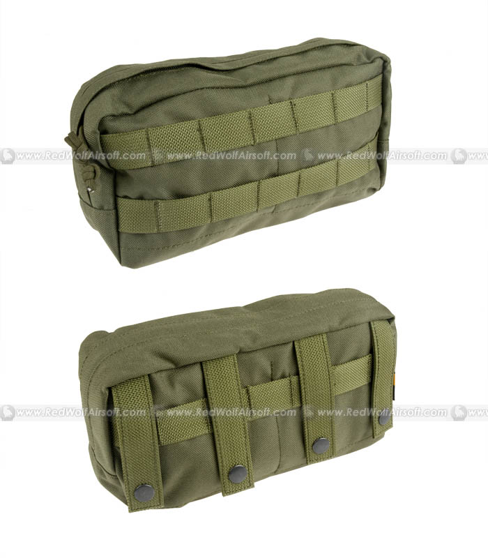 PANTAC Spec Ops Series Molle Horizontal Pouch (OD / Cordura)