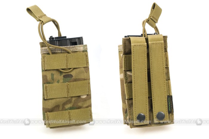 PANTAC OPEN TOP Single MAGAZINE Pouch (Crye Precision Multicam / CORDURA)