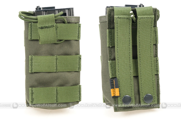 PANTAC OPEN TOP Single MAGAZINE Pouch (OD / CORDURA)