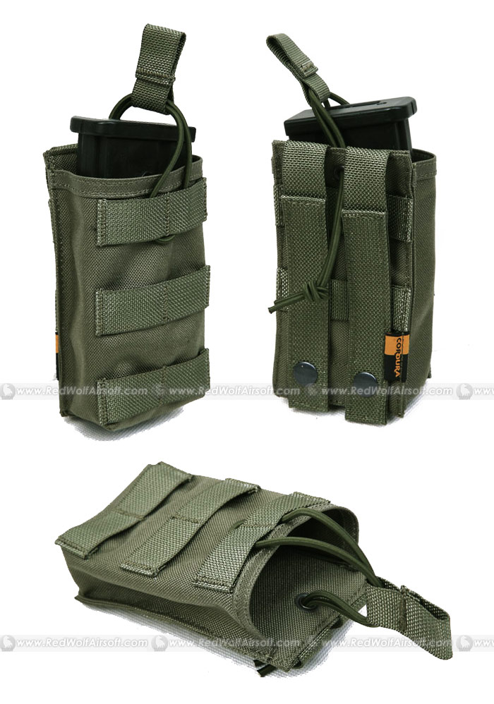 PANTAC OPEN TOP Single MAGAZINE Pouch (RG / CORDURA)
