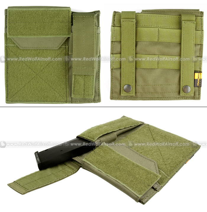 PANTAC Molle Administrative / Pistol Mag Pouch (OD / Cordura)