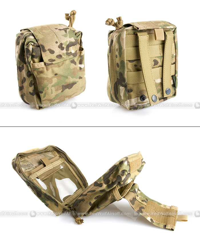 PANTAC Molle Spec Ops Medical Pouch (Crye Precision Multicam, Cordura)