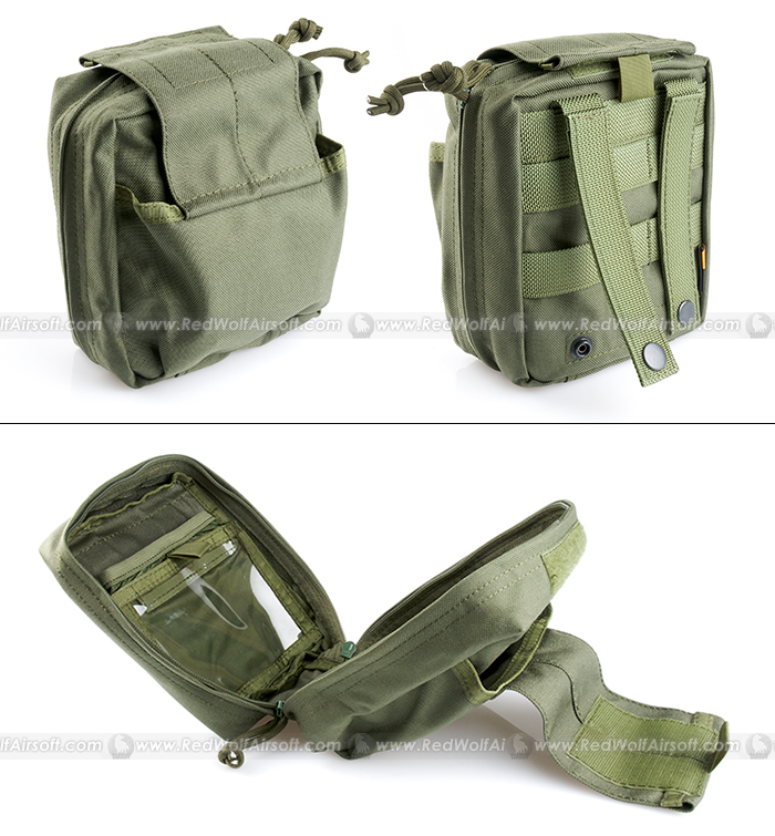 PANTAC Molle SpecOps Medical Pouch Medium (OD, Cordura)