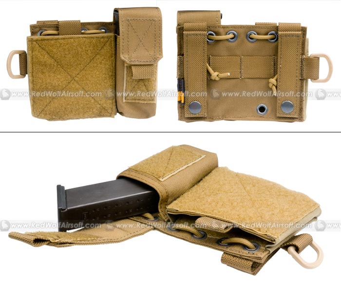 PANTAC Molle Small Administrative Pouch (CB / Cordura)