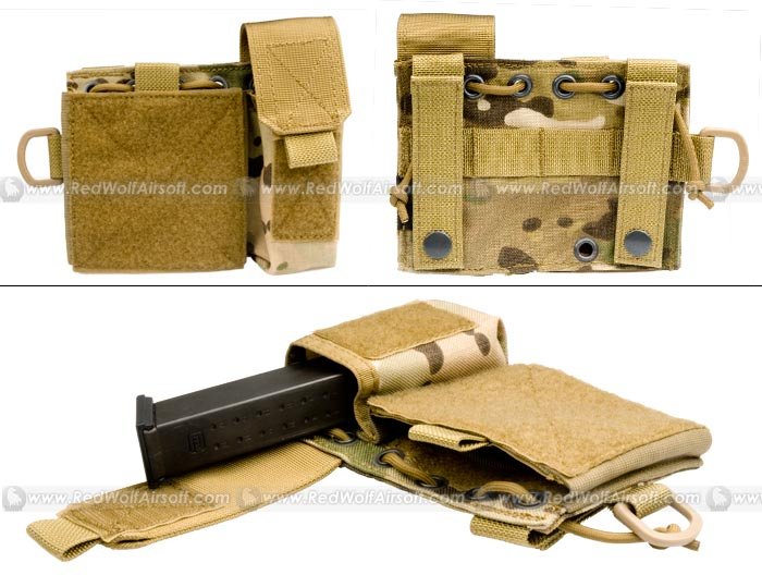 PANTAC Molle Small Administrative Pouch (Crye Precision Multicam / Cordura)