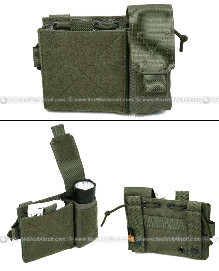PANTAC Molle Small Administrative Pouch (RG / Cordura)