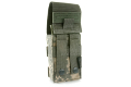 PANTAC Molle single M16 Mag Pouch with Solid Insert (ACU / Cordura) <font color=red> (Clearance)</font>
