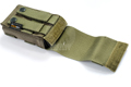 PANTAC Molle Single M16 Pouch with Solid Insert (Cordura / Ranger Green)
