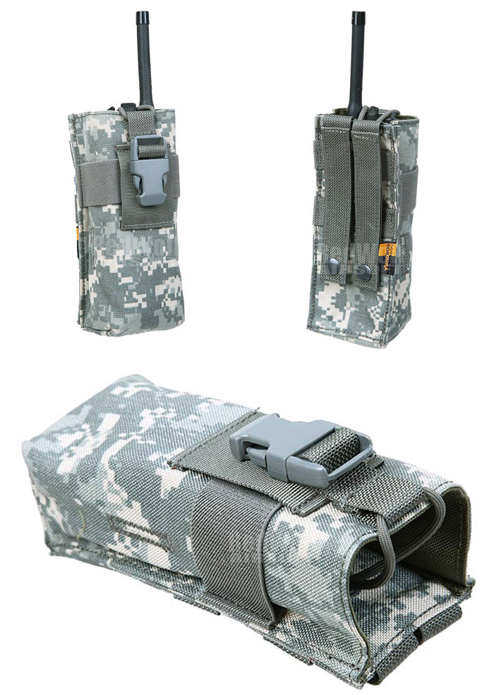 Pantac Molle PRC148 Radio Pouch (ACU / Cordura) <font color=red>(Clearance)</font>