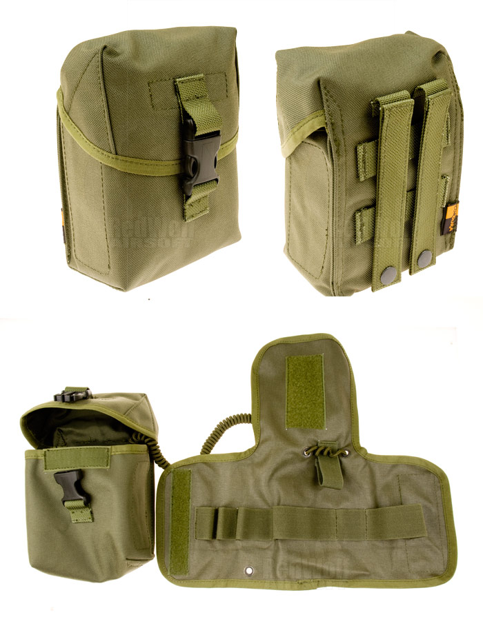 PANTAC Molle ProMedic Pouch (OD / Cordura) <font color=yellow>(Clearance)</font>