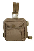 PANTAC Molle Spec Ops Dropleg Medic Pouch (Coyote Brown / Cordura)
