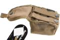 PANTAC Molle FLC Single Fragmentation Grenade Pouch (Cordura / Coyote Brown)