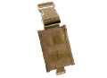 PANTAC Molle Adapter for Dropleg PALS (Coyote Brown / Cordura)