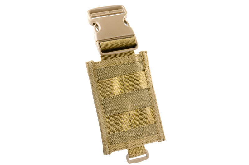 PANTAC Molle Adapter for Dropleg PALS (Khaki / Cordura)  <font color=red>(HOLIDAY SALE)</font>