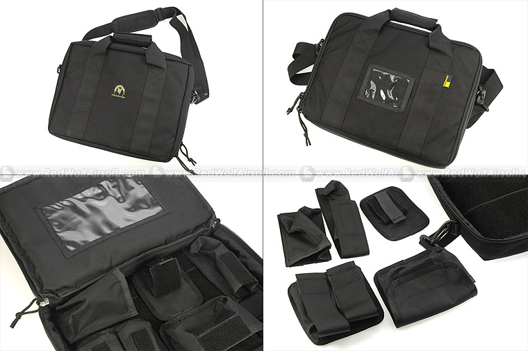 Pantac Tactical Pistol Carry Bag (Black/Cordura)