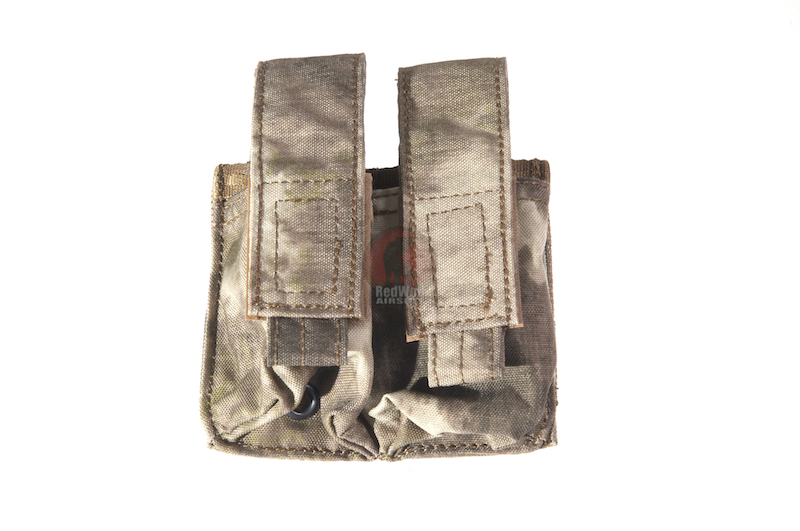 PANTAC Malice EV AF 9MM Double Mag Pouch (A-TACS / Cordura) <font color=yellow>(Clearance)</font>