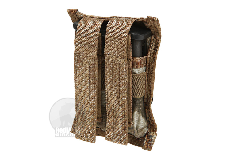PANTAC RAV 9mm/0.45 Double Mag Pouch (A-TACS / Cordura)