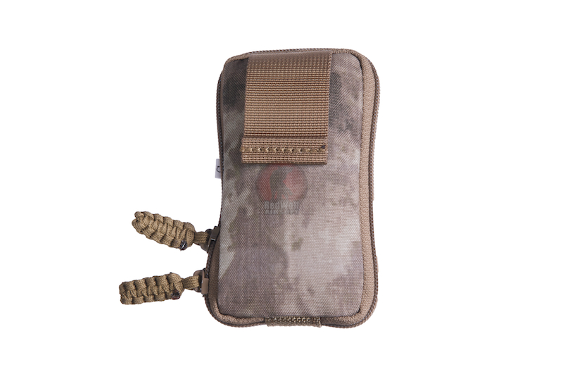 PANTAC Molle Zippered Drop Pouch, Small (A-TACS / Cordura) <font color=yellow>(Clearance)</font>