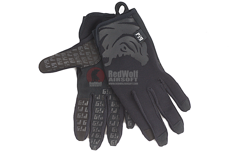 PIG Full Dexterity Tactical (FDT) Delta Utility Glove (S Size / Black)