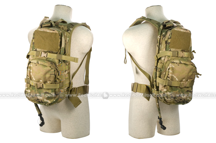 PANTAC Hydration Backpack for RRV Vest (Crye Precision Multicam, ORDURA) (Back to School)