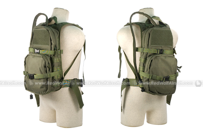 Pantac Hydration Backpack for RRV Vest (OD, CORDURA)
