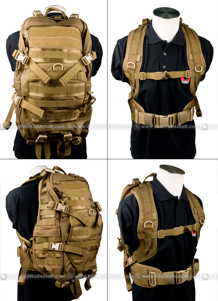 Pantac TAC Attack Backpack (CB / Cordura)
