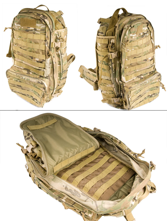 PANTAC Molle Forward Deployment Pack (Crye Precision Multicam / Cordura)