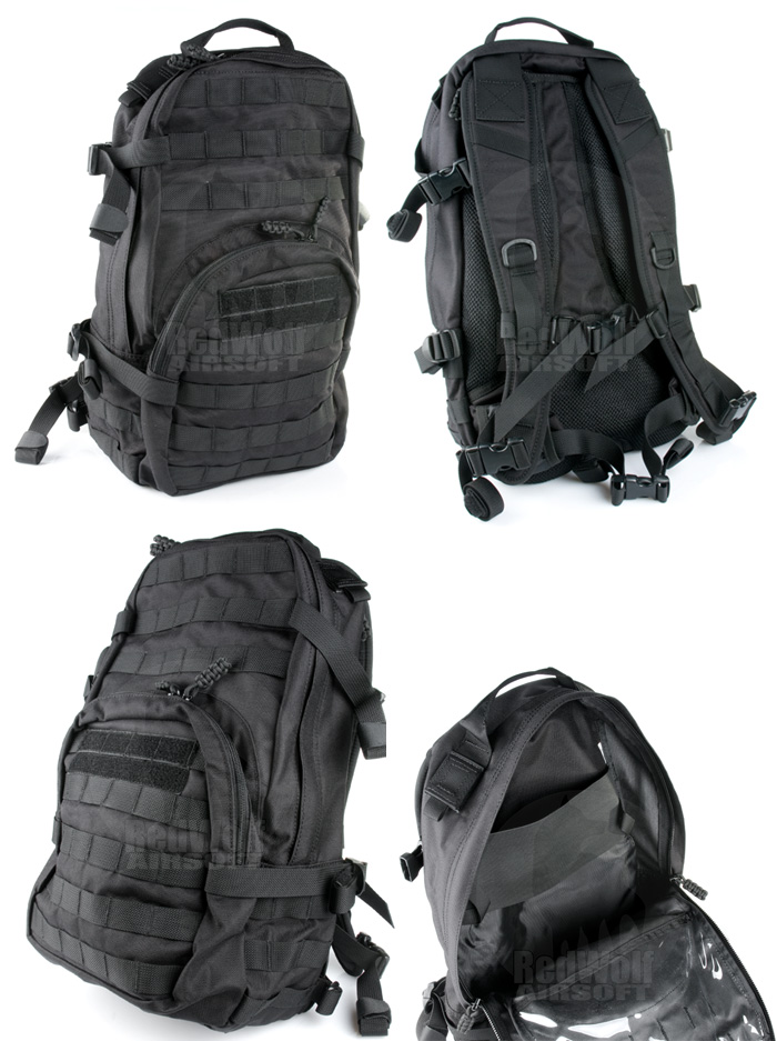 PANTAC Molle HAWK Backpack (Black / Cordura)