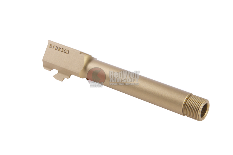 Pro-Arms Aluminium CNC 14mm Threaded Outer Barrel for Umarex (VFC) G17 Gen 5 GBB Pistol - Tan
