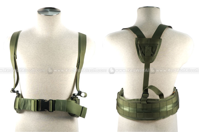 PANTAC Belt with Brace (Medium / OD / Cordura)