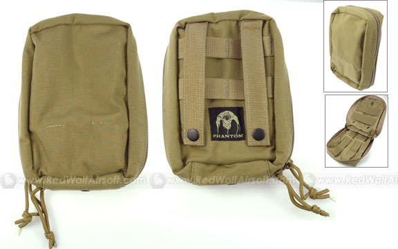 PANTAC Medical First Aid Kit Pouch (Khaki / CORDURA)