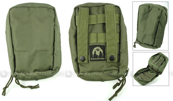 PANTAC Medical First Aid Kit Pouch (OD / CORDURA)