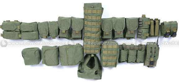 PANTAC Pouch Kit Set for RAV (OD / CORDURA)