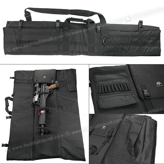PANTAC Tactical Sniper Rifle Carry Bag (Black / 1300mm)