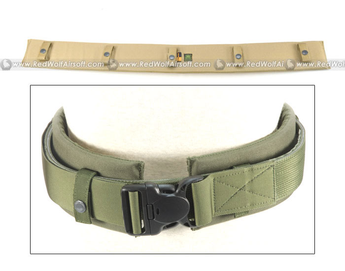 PANTAC Duty Belt Padding (Khaki / Small / Cordura)