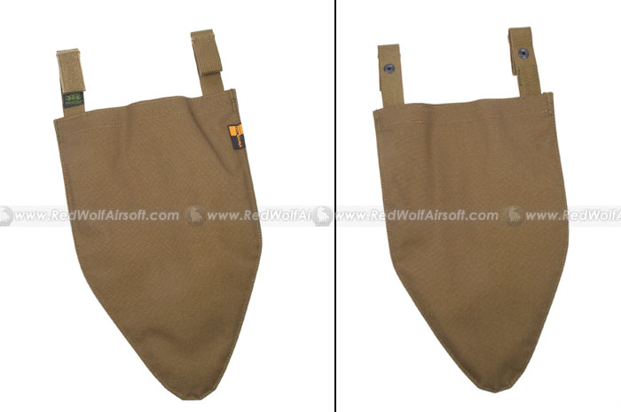Pantac Outer Tactical Vest Crotch Pad (CB, Cordura) <font color=red>(Clearance)</font>