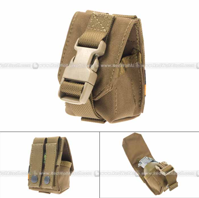 PANTAC Single Fragmention Grenade Pouch (CB / CORDURA)