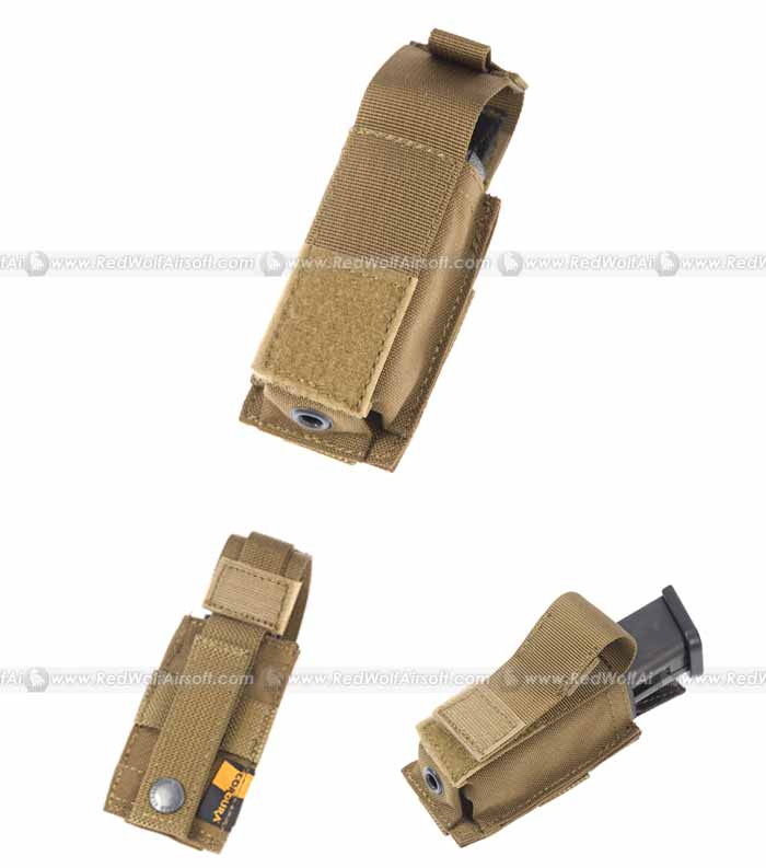 PANTAC Molle 9mm Magazine Single Pouch (CB / CORDURA)