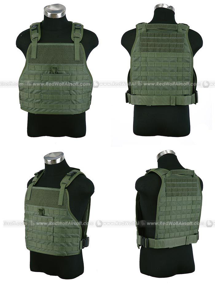 PANTAC MOLLE Light-Vest (OD, M, Cordura)  <font color=red>(HOLIDAY SALE)</font>