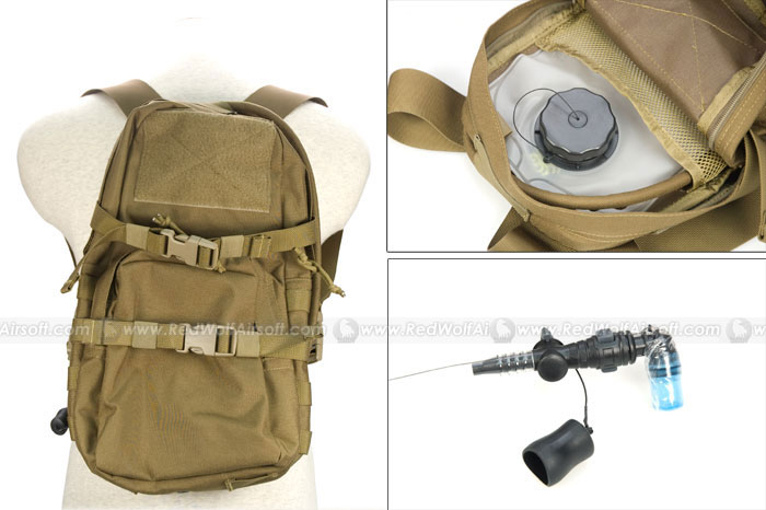 PANTAC MBSS Hydration Backpack Full Set (CB / CORDURA)