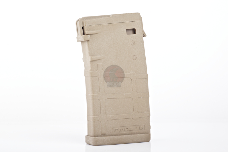 Magpul PTS PMAG 20LR Magazine (140rd.) for SR25 / XM110 (DE)