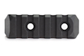 PTS Enhanced Rail Section (Keymod) 4 Slots - Black
